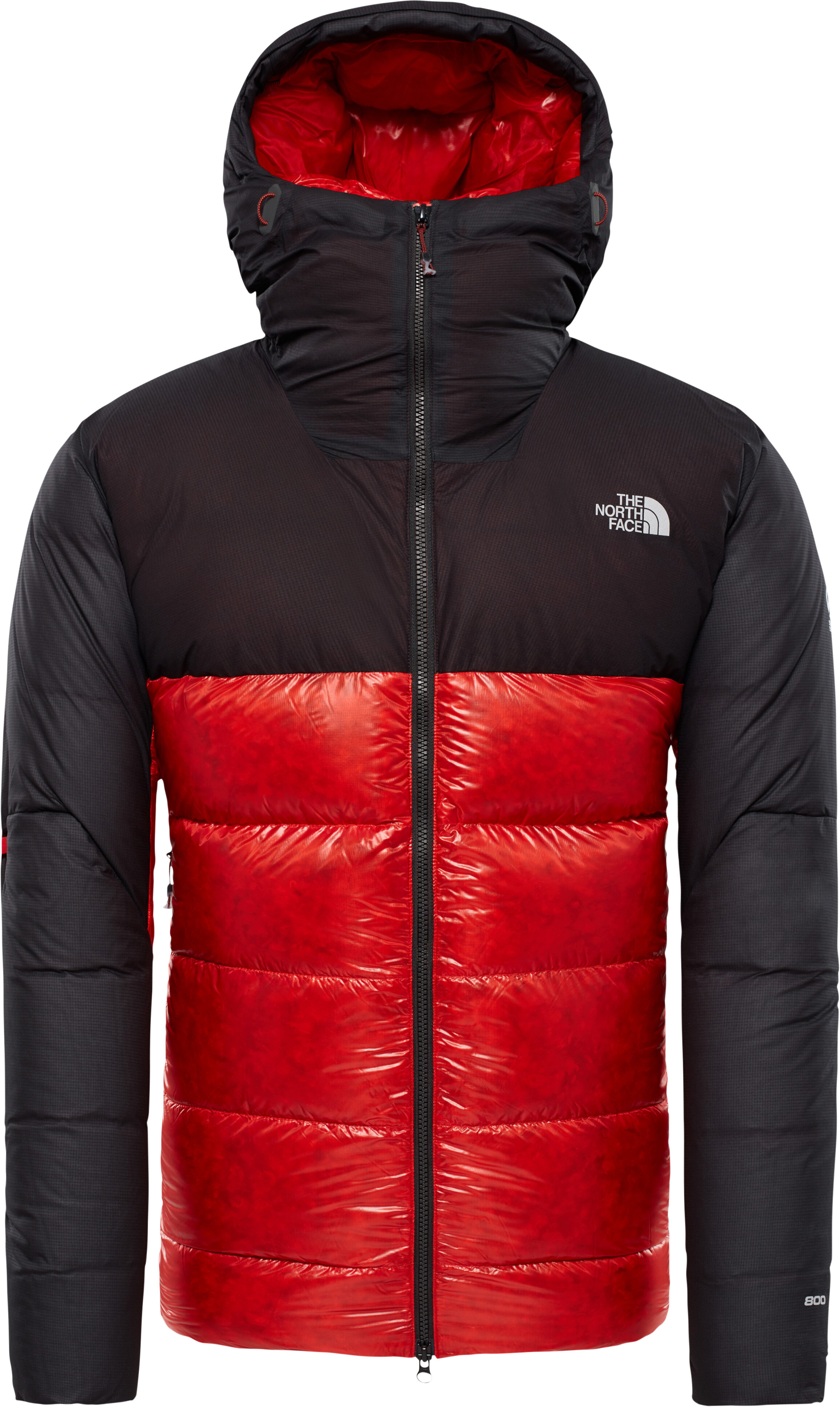 1bb4501e3108 The North Face M s Summit L6 Down Belay Parka Fiery Red Tnf Black ...